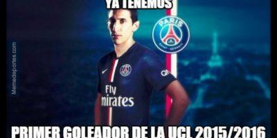 """Por cierto, el """"Fideo"""" fue el primer goleador de la Champions League. Foto:memedeportes.com"""