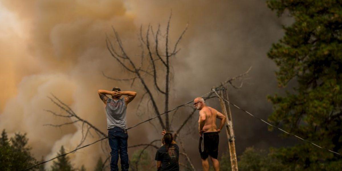 Las estremecedoras imágenes del incendio que destruyó más de 400 casas en California
