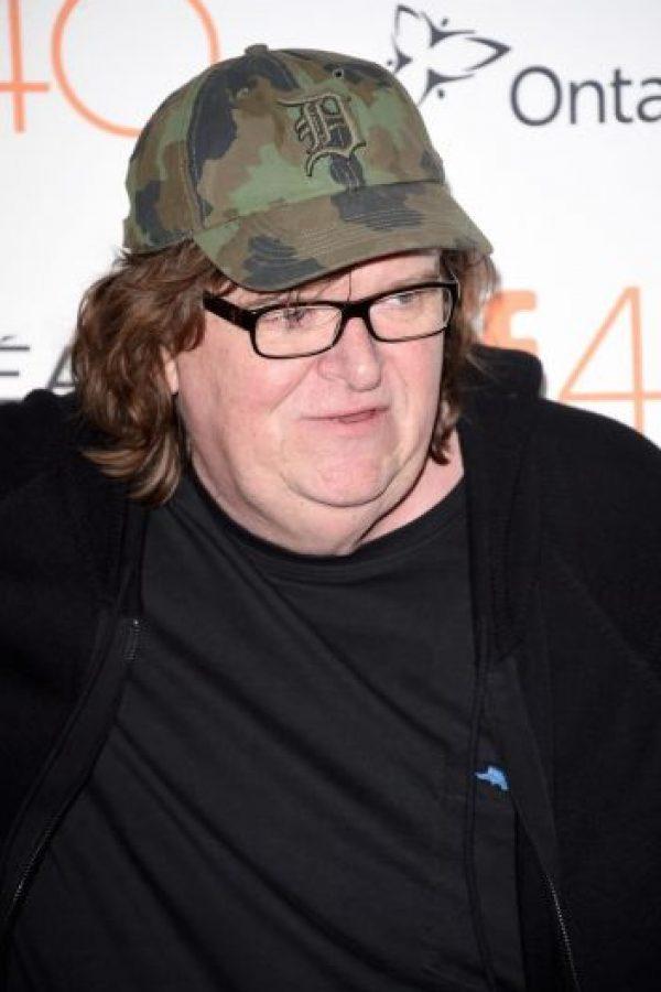 "Michael Moore recientemente estrenó el tráiler del documental ""Where to Invade Next"". Foto:Getty Images"