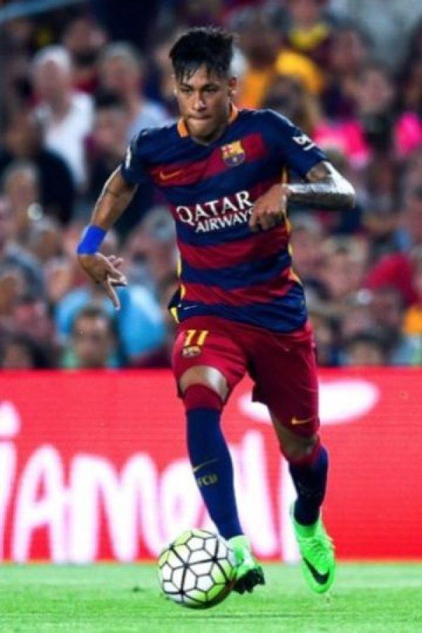 El brasileño juega en el Barcelona de España. Foto:Getty Images