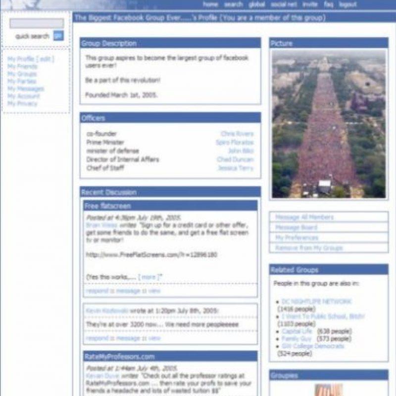 2004. Las imágenes resaltan de gran manera en la edición original. Foto:Facebook.com