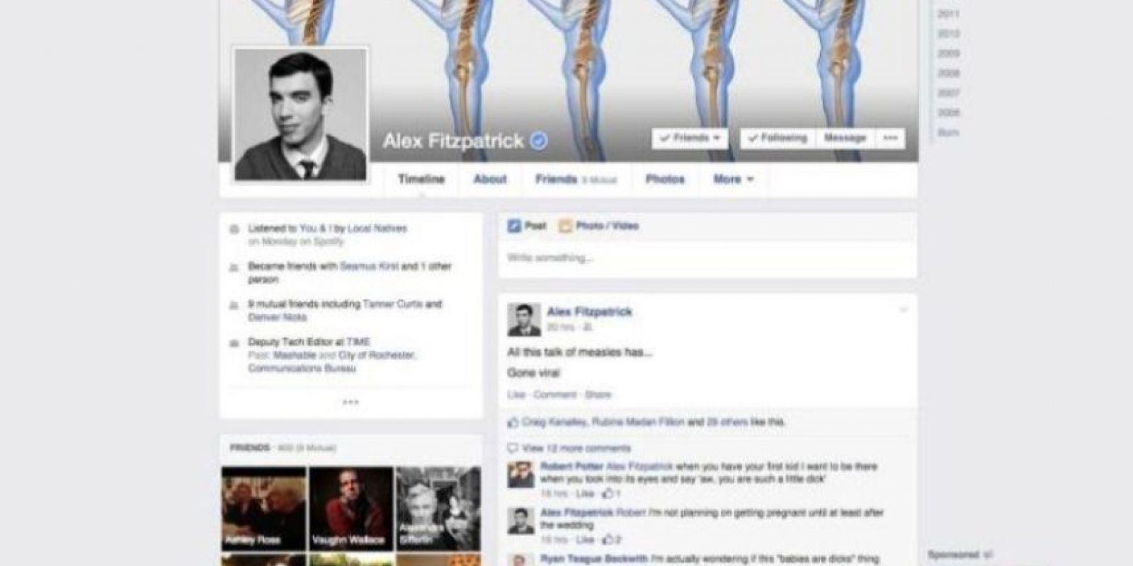 2015. Facebook muestra un nuevo algoritmo para seleccionar noticias y mejores configuraciones de privacidad. Foto:Facebook.com