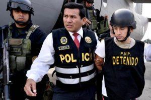 De acuerdo al Ministerio del Interior de Perú, Oropeza fue localizado en Ecuador por la inteligencia peruana Foto:Vía Twitter.com/mininterperu