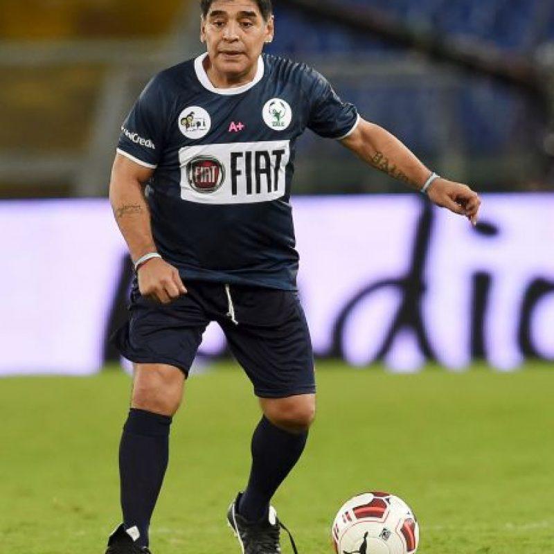 """NEUTRAL: Maradona: """"No podes dejar disparar a Cristiano desde ningún lugar, es un depredador del gol. Es un profesional increíble, que en estos momentos está a la altura de Leo"""". Foto:Getty Images"""