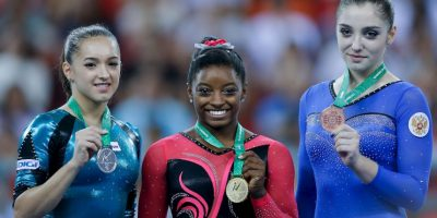 9. Simone Biles (Gimnasia) Foto: Getty Images