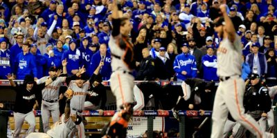 4. San Francisco Giants (Béisbol) Foto: Getty Images