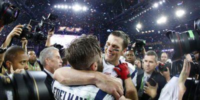 """Luego de varios años de sequía, los Patriots renacieron este 2014. De la mano de un veterano Tom Brady, los """"Pats"""" se coronaron en su división, en la Conferencia Americana y luego en el Super Bowl, donde vencieron a los Seattle Seahawks, otro de los equipos protagonistas de la NFL en los últimos años. Foto:Getty Images"""