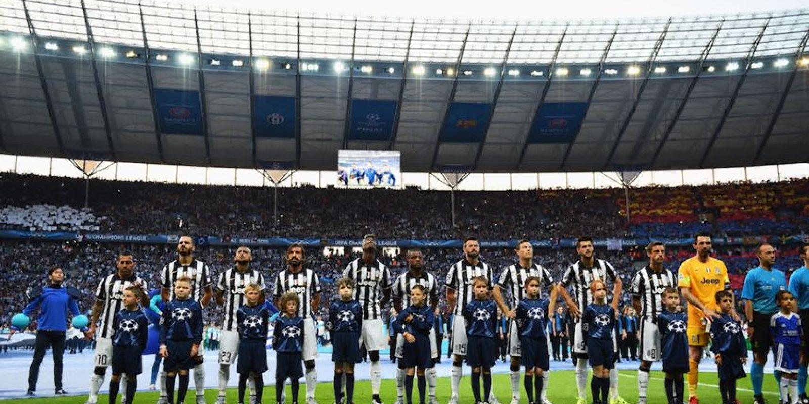 """La plantilla total de la """"Juve"""" tiene un valor de 388.5 millones de euros, la octava más cara del mundo. Foto:Getty Images"""