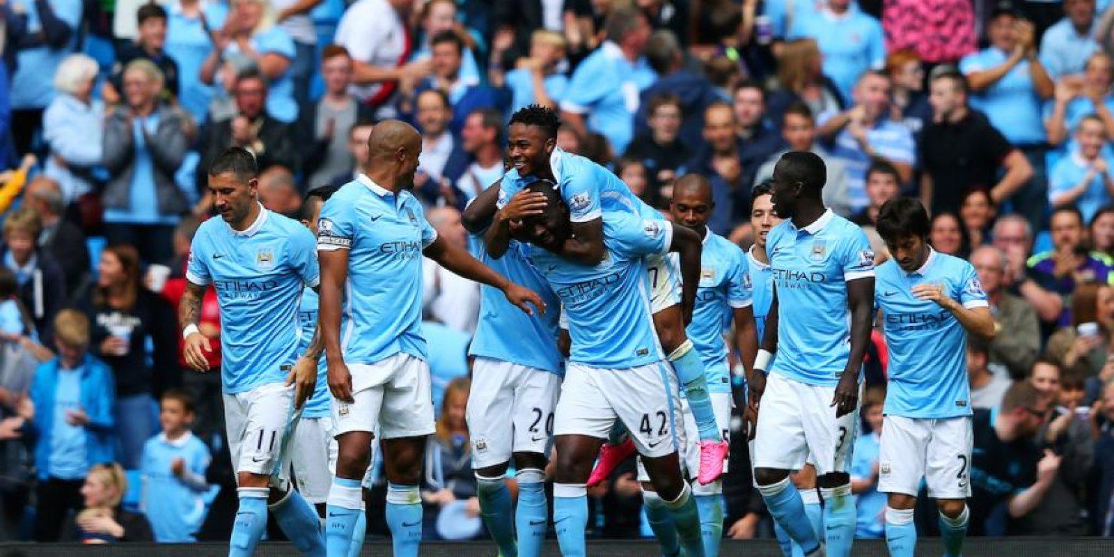 Manchester City es uno de los cuatro representantes ingleses en esta edición de la Champions League. Foto:Getty Images