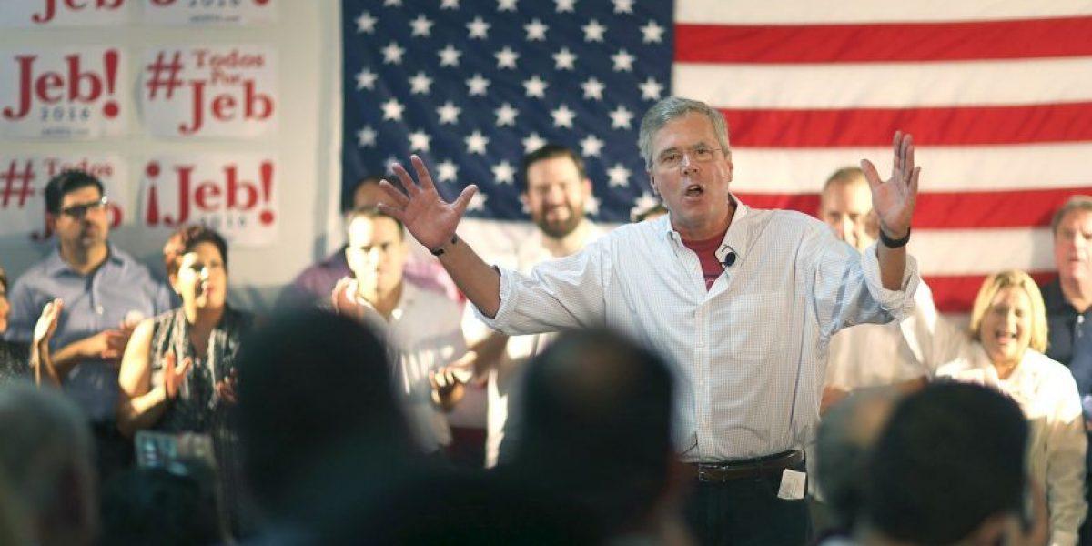 Video: Jeb Bush habla en español para celebrar a los hispanos