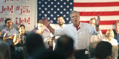 Jeb Bush es un precandidato del Partido Republicano estadounidense. Foto:Getty Images