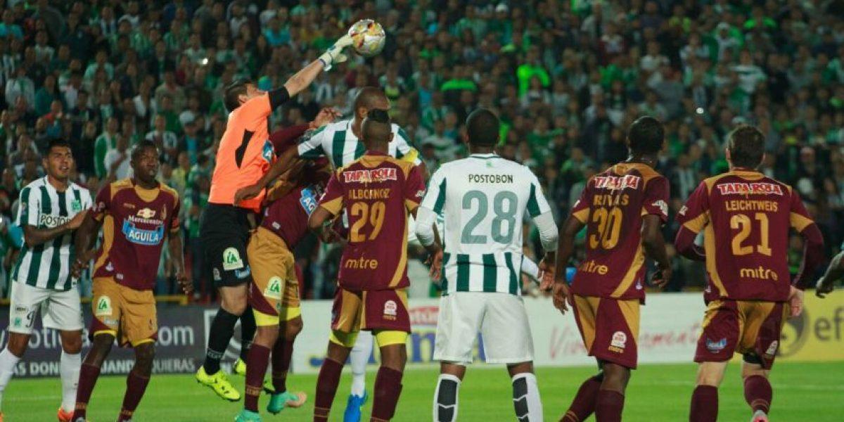 Liga Águila: Tolima 0-1 Nacional en El Campín