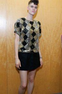 Por ser tan alta y musculosa no la incluyen mucho en campañas de moda para mujer. Foto:vía Getty Images