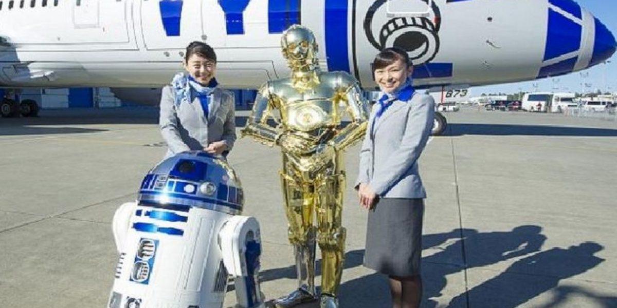 La fuerza los acompañará en el cielo... Presentan el primer avión de