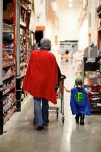 Él va de compras así… Foto:Imgur