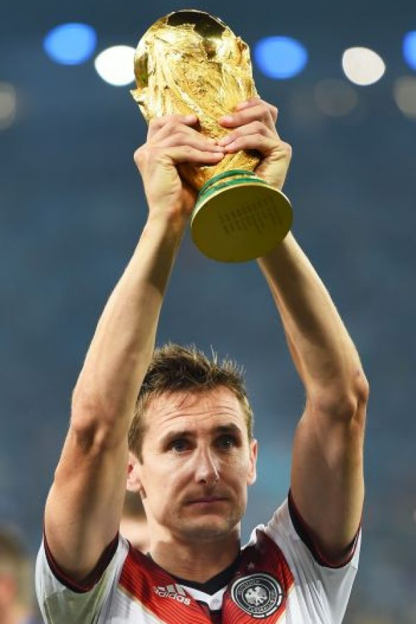 11. Miroslav Klose – Alemania Foto: Getty Images