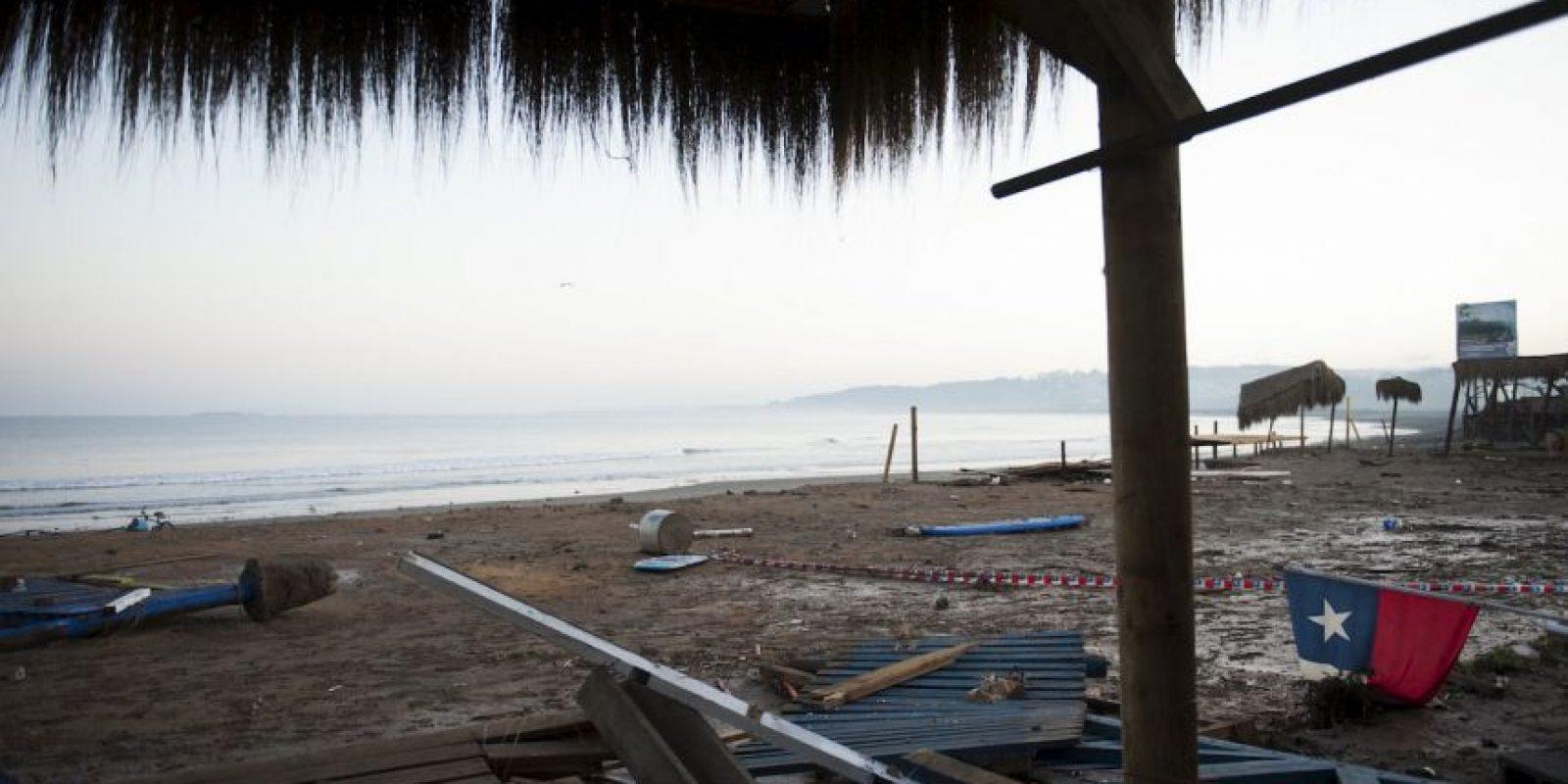 El terremoto generó un tsunami de tsunami de 4.6 metros (15 pies). Foto:AFP