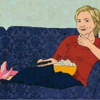 Y por supuesto, también se habló de la posible reacción de Hillary Clinton Foto:Twitter.com