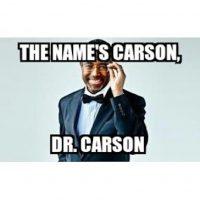 Otro candidato que recibió memes fue Ben Carson Foto:Twitter.com