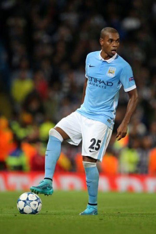 MEDIOS: Fernandinho (Brasil/Manchester City) Foto:Getty Images