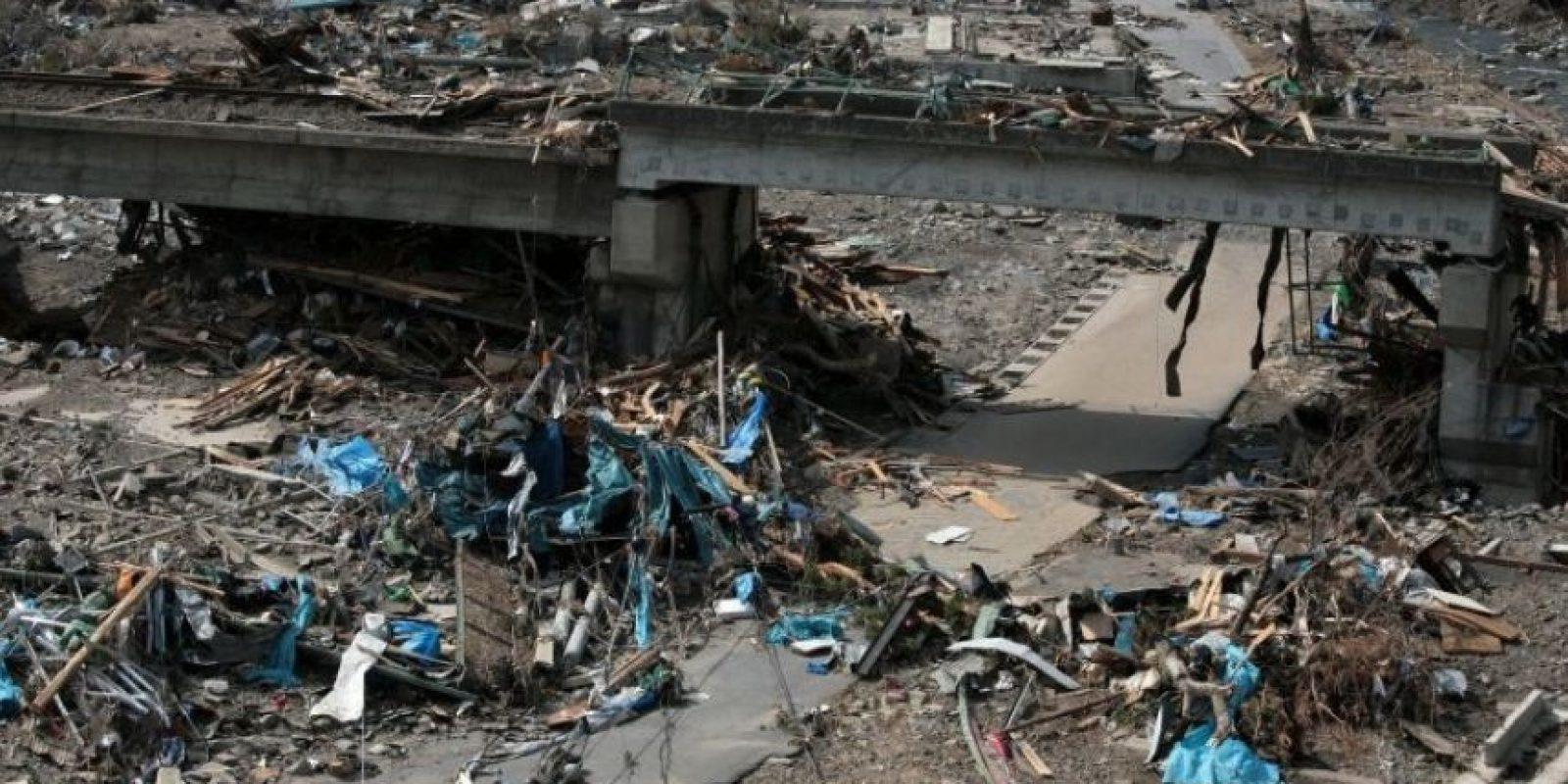 Dos días antes hubo un terremoto grande, pero que no pasó a mayores Foto:Getty Images
