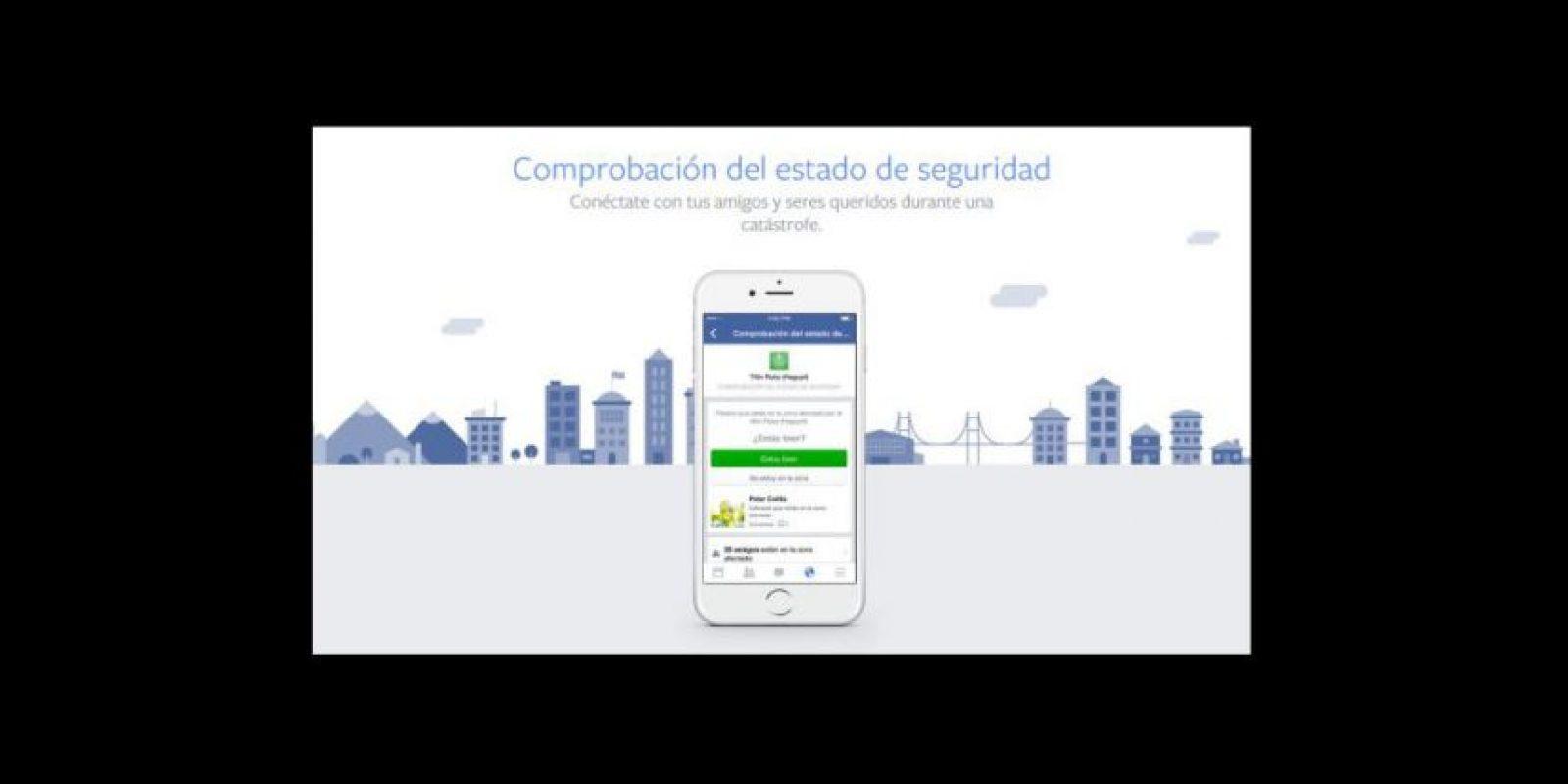 Funciona en celular y web Foto:Facebook