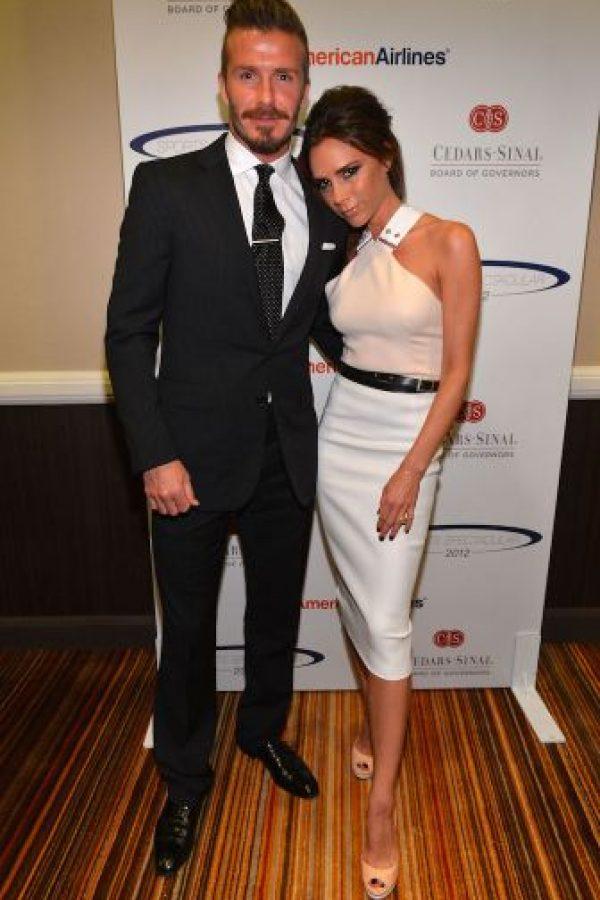 Victoria Beckham se está sometiendo a un tratamiento láser. Foto:Getty Images