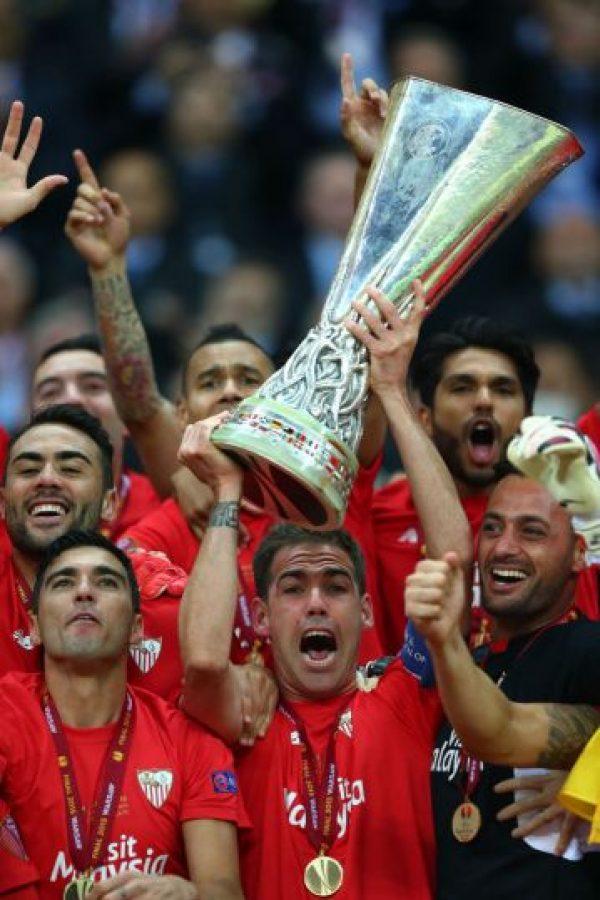 Sevilla es el máximo ganador del segundo torneo de clubes más importante de Europa Foto:Getty Images