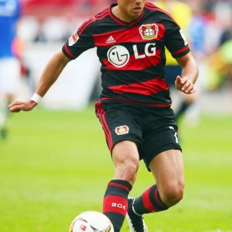 DELANTEROS: Javier Hernández (México/Bayer Leverkusen) Foto:Getty Images
