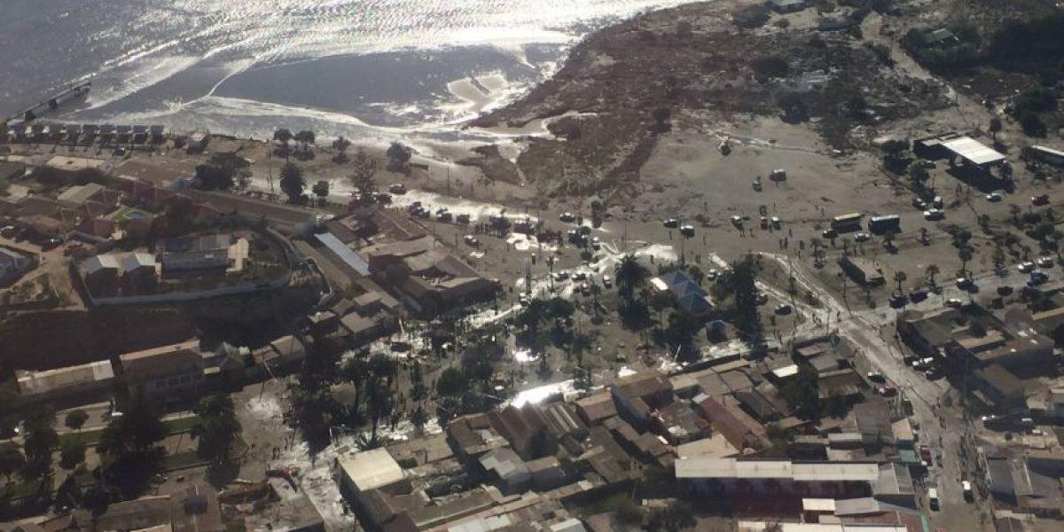 Fotos: La destrucción del terremoto y tsunami en Chile vista desde el aire