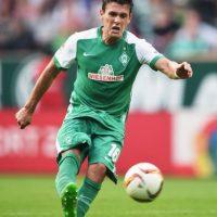 El hombre del Werder Bremen sube al podio en el tercer puesto Foto:Getty Images