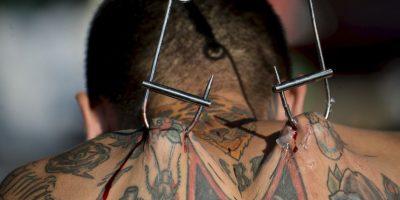 Festival de tatuajes en Colombia Foto:AFP
