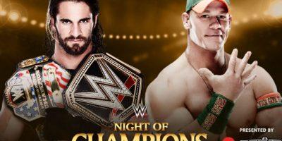 Campeonato de los Estados Unidos: Seth Rollins vs. John Cena. Foto:WWE