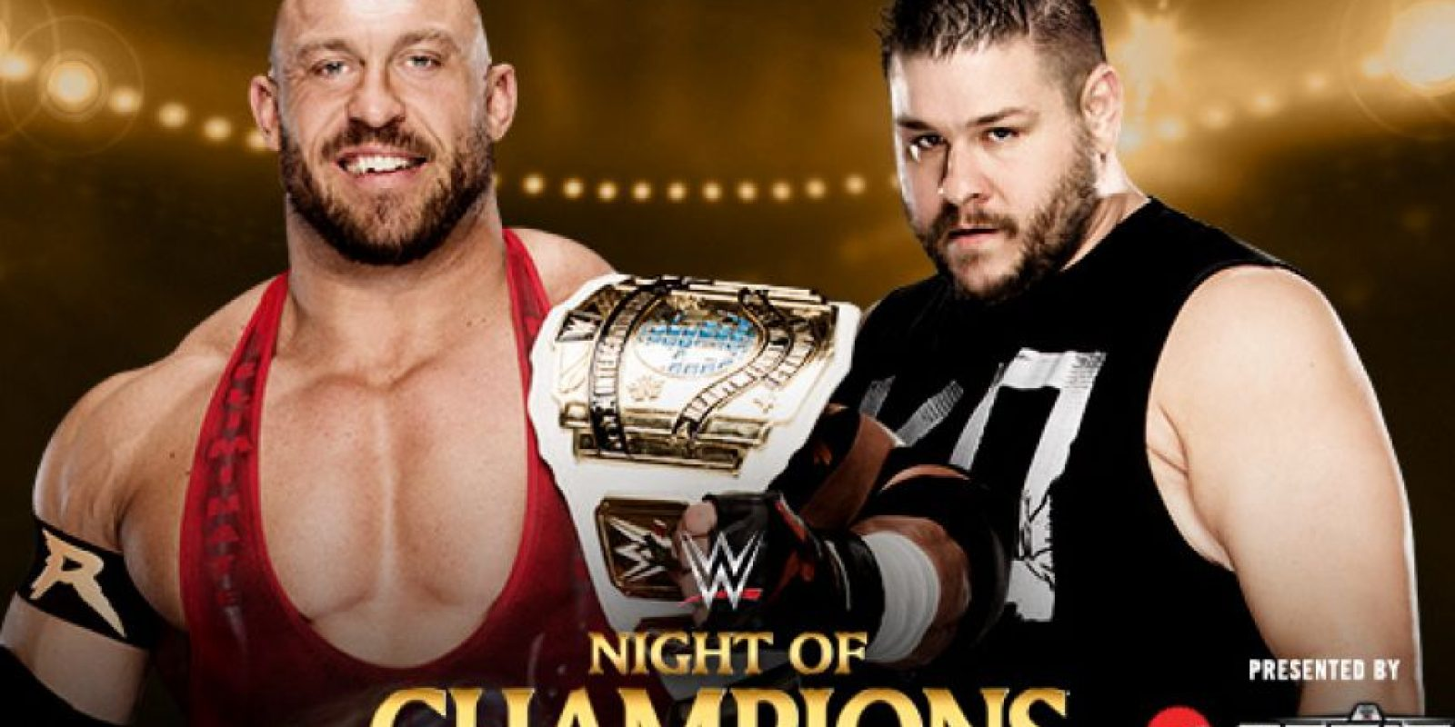 Campeonato Intercontinental: Ryback vs. Kevin Owens. Foto: WWE