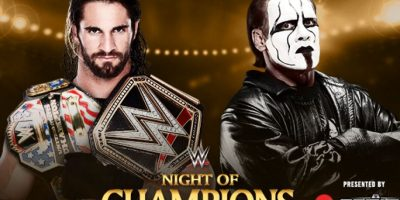 Campeonato Mundial de Peso Pesado de la WWE: Seth Rollins vs. Sting. Foto:WWE