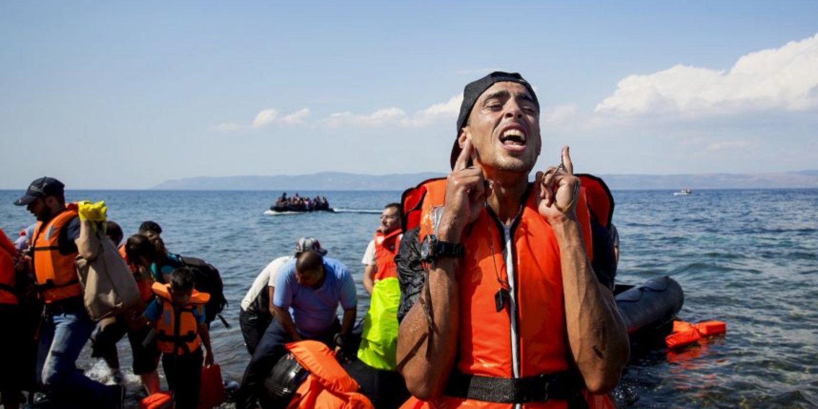 Estos han recibido golpes y les han lanzado gases lacrimógenos. Foto:Getty Images