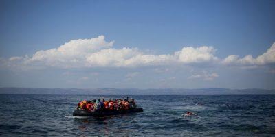 Ante el cierre de fronteras los refugiados han comenzado a llegar a Croacia. Foto:Getty Images