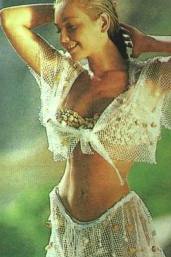 """Acá, Thalia en """"Marimar"""". Foto:vía Canal de las Estrellas"""