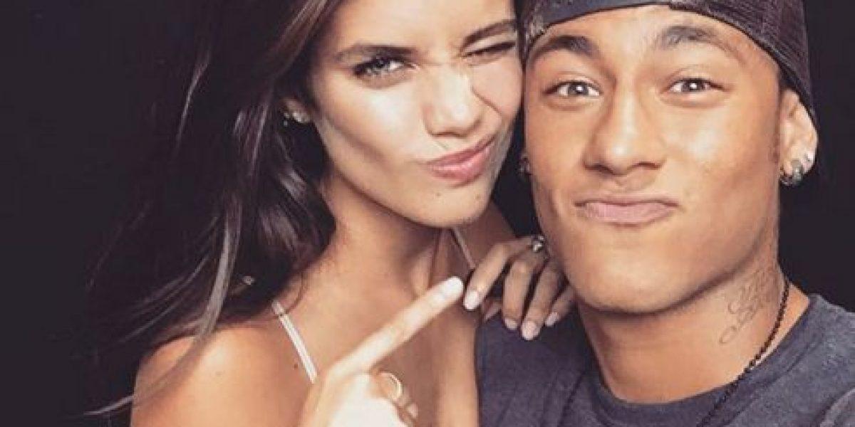 """Este """"ángel"""" de Victoria's Secret es la rival de Neymar"""