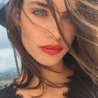 """Su carrera en el modelaje comenzó cuando tenía 16 años y ganó un concurso organizado por la marca de shampoo """"Pantene"""". Foto:Vía instagram.com/sarasampaio"""