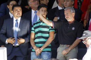 Finalmente, este hombre, llamado Osama Abdul Mohsen, llegó a Alemania. Ahí reportes de prensa informaron que había sido entrenador en su natal Siria. Foto:Getty Images