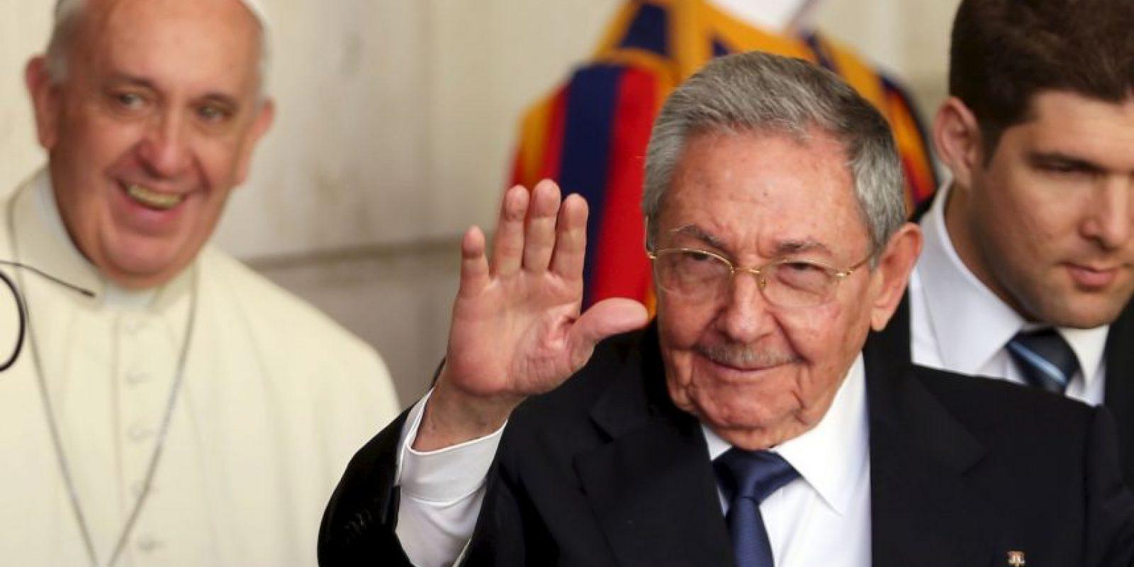 La gira del papa en Cuba será del 19 al 22 de septiembre. Foto:Getty Images