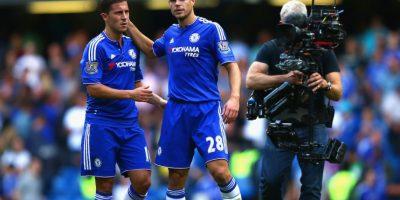 """Chelsea venció 2-0 a Arsenal y frenaron una racha de dos partidos perdidos en forma consecutiva, además del orgullo de haberse impuesto en el """"derbi de Londres"""". Foto:Getty Images"""