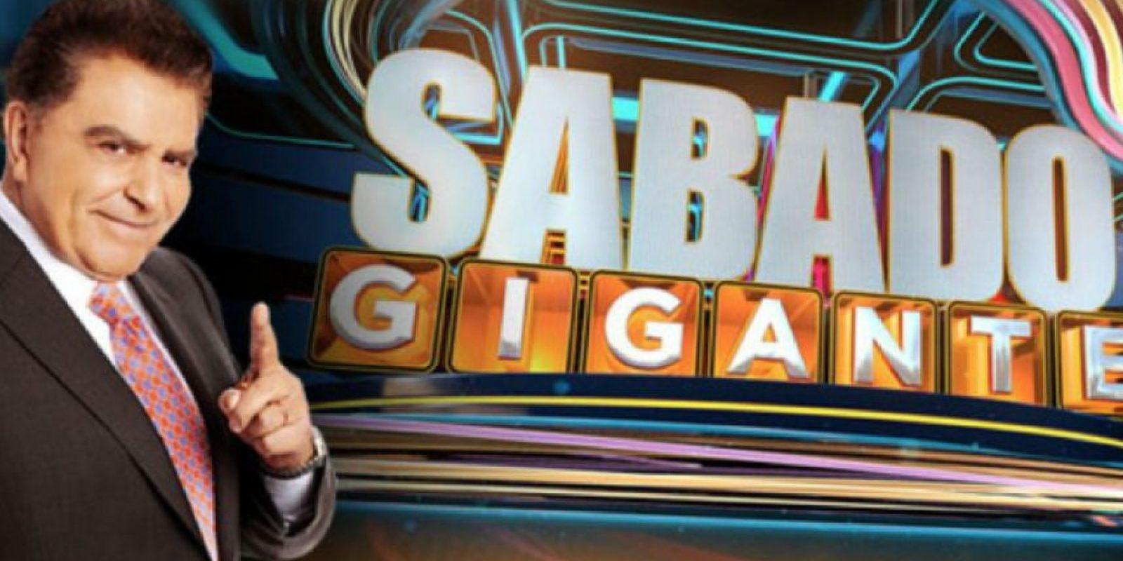 """""""Sábado Gigante"""" llegará a su fin en septiembre próximo. Foto:facebook.com/SabadoGigantepaginaoficial"""
