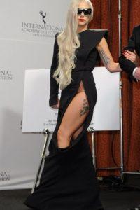 No, Lady Gaga. En 2011 todavía podías impresionar, pero no eran los Grammy. Foto:vía Getty Images