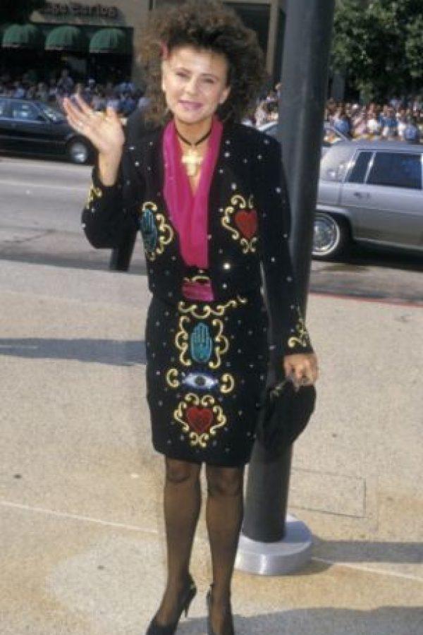 """Tracey Ullman en 1988, como adivina salida de """"Star Trek"""". Foto:vía Getty Images"""