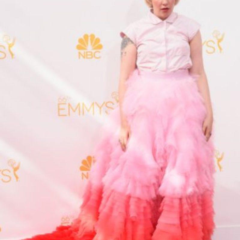 Lena Dunham de lejos es la ganadora. Foto:vía Getty Images