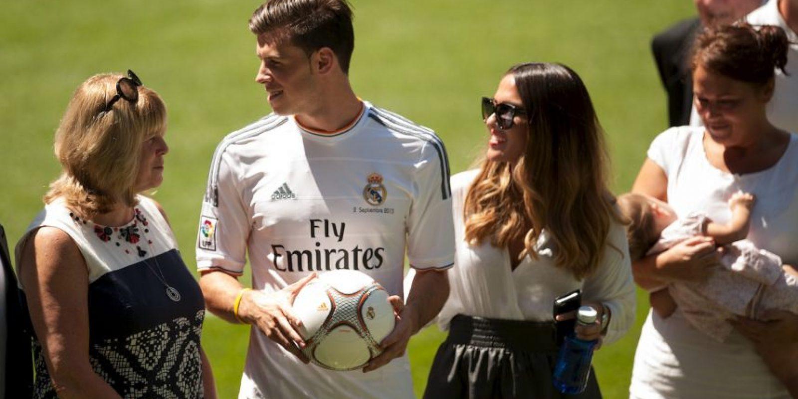 Ella es la discreta esposa de Gareth Bale. Foto:Getty Images