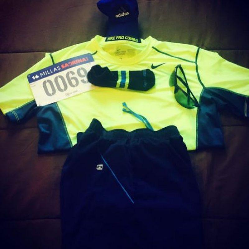 """El """"runner"""" viste con ropas especiales, camisetas con control de clima y que absorben el sudor para lucir siempre impecables. Foto:Vía instagram.com/explore/tags/running"""