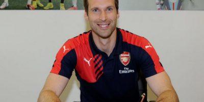 1. Petr Cech Foto:Vía twitter.com/petrcech